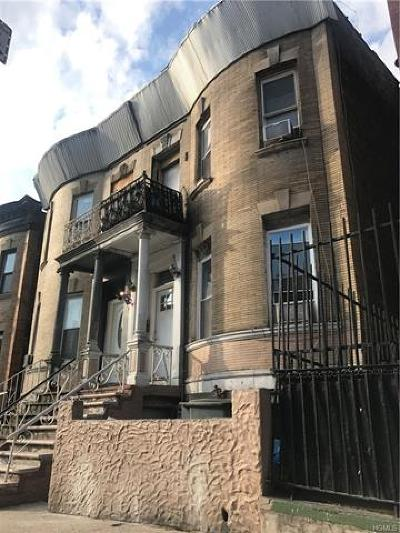 Bronx NY Multi Family 5+ For Sale: $1,200,000