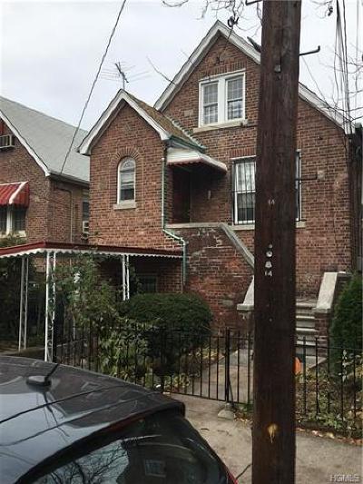 Bronx Single Family Home For Sale: 4224 Bruner Avenue