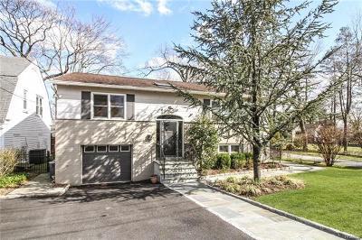 Bronxville Single Family Home For Sale: 46 Cassilis Avenue