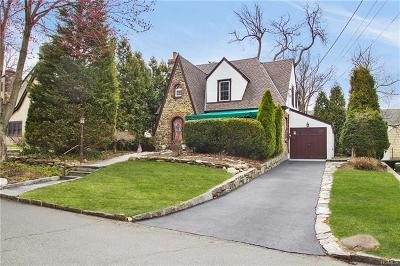 Scarsdale NY Single Family Home For Sale: $839,000