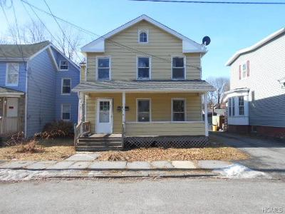 Port Jervis Single Family Home For Sale: 83 Franklin Street