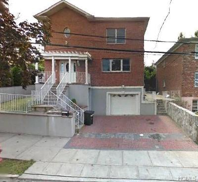 Yonkers Single Family Home For Sale: 26 Aka 28 Bennett Avenue