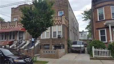 Brooklyn Multi Family 2-4 For Sale: 585 Barbey Street