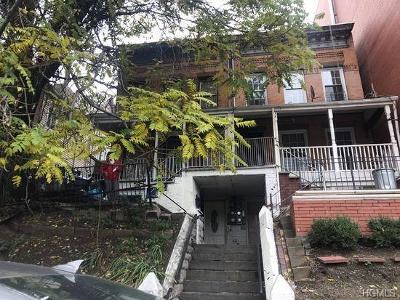 Bronx Multi Family 2-4 For Sale: 1878 Cedar Avenue