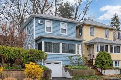 Dobbs Ferry Single Family Home For Sale: 21 Highland Avenue