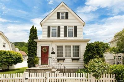 Hastings-On-Hudson Single Family Home For Sale: 48 Marion Avenue