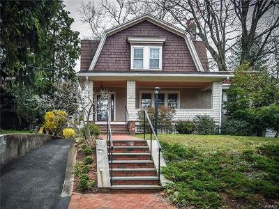Hastings-On-Hudson Single Family Home For Sale: 20 Euclid Avenue