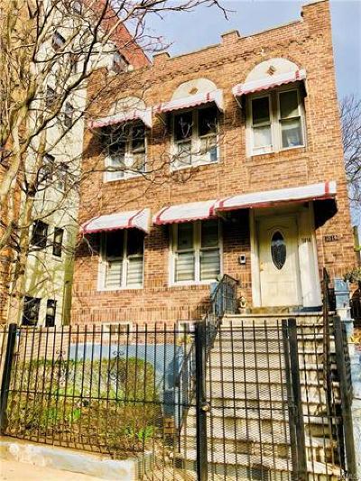 Bronx NY Multi Family 2-4 For Sale: $549,900