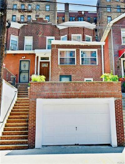 Bronx Single Family Home For Sale: 2860 Kingsbridge Terrace