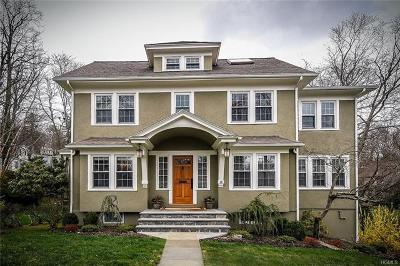 Hastings-On-Hudson Single Family Home For Sale: 16 South Calumet Avenue