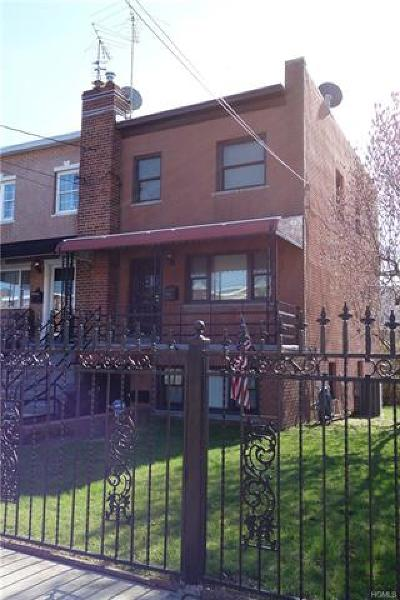 Bronx Multi Family 2-4 For Sale: 257 Revere Avenue
