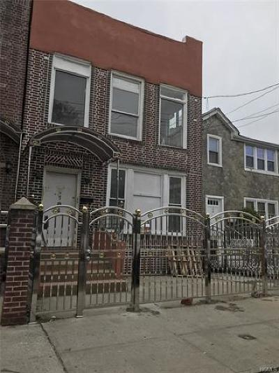 Multi Family 2-4 For Sale: 184 West 179th Street