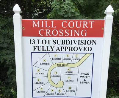 Cortlandt Manor Residential Lots & Land For Sale: Mill Court