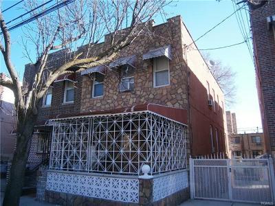 Bronx NY Multi Family 2-4 For Sale: $598,500