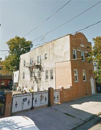 Bronx NY Multi Family 2-4 For Sale: $1,200,000