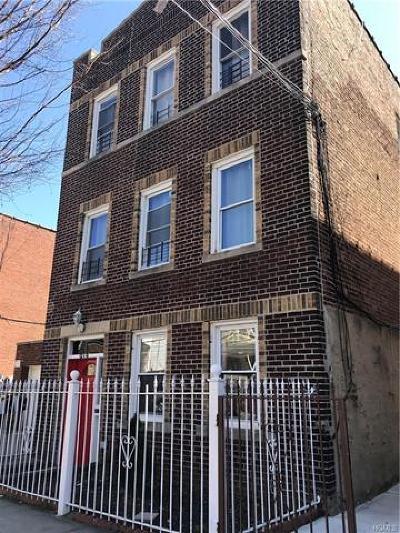 Bronx NY Multi Family 2-4 For Sale: $715,000