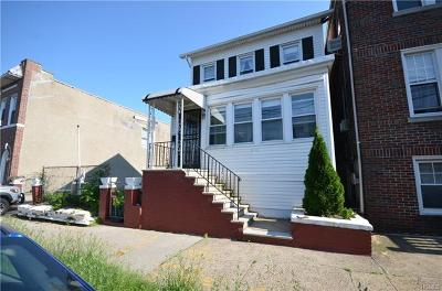 Bronx NY Single Family Home For Sale: $450,000
