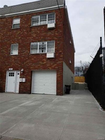 Bronx NY Multi Family 2-4 For Sale: $849,000