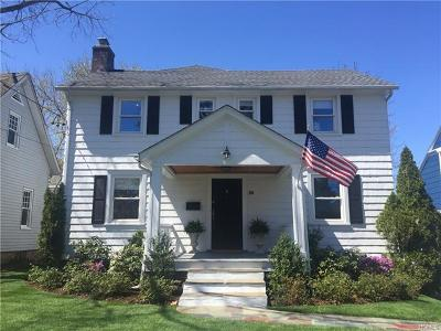 Westchester County Single Family Home For Sale: 26 Kane Avenue