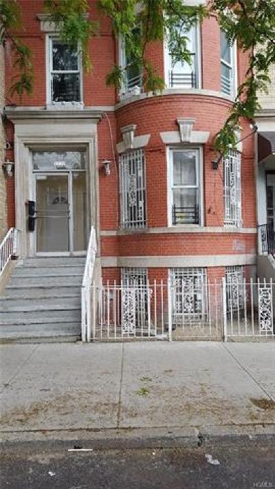 Bronx NY Multi Family 2-4 For Sale: $669,000