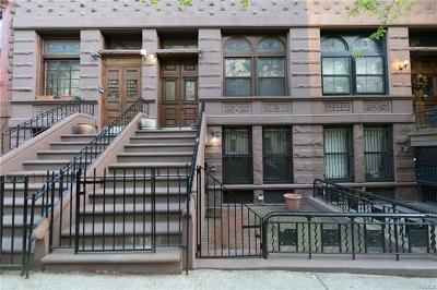 New York Multi Family 2-4 For Sale: 528 West 143rd Street