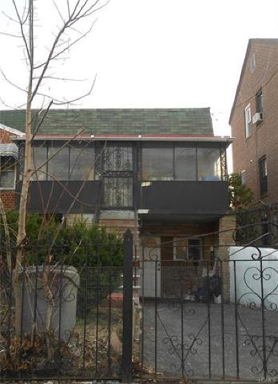 Bronx Multi Family 2-4 For Sale: 1016 East 222nd Street