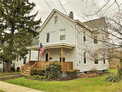 Walden NY Single Family Home Sold: $170,000