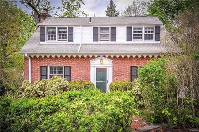 Hastings-On-Hudson Single Family Home For Sale: 57 Stratford