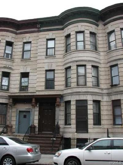Bronx Multi Family 2-4 For Sale: 1485 Bryant