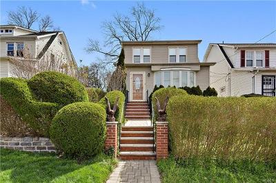 Bronx Single Family Home For Sale: 3926 Dyre Avenue