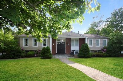 Scarsdale NY Single Family Home For Sale: $995,000