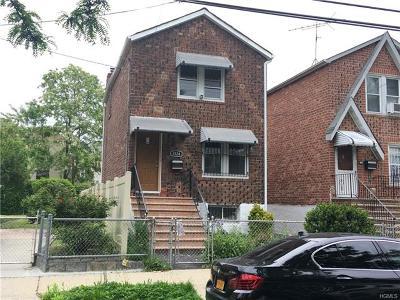 Bronx Single Family Home For Sale: 4124 De Reimer Avenue