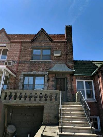 Brooklyn Single Family Home For Sale: 774 East 37th St