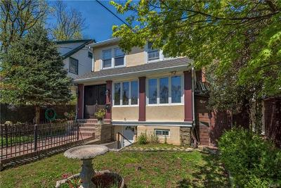 New Rochelle Single Family Home For Sale: 5 Fairview Place