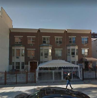 Bronx Multi Family 2-4 For Sale: 1705 Nelson Avenue