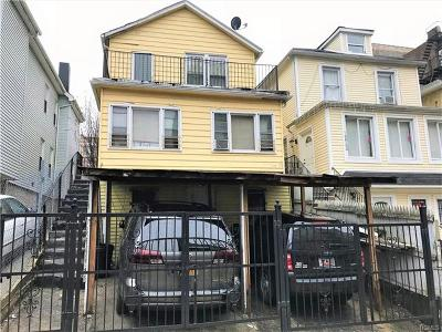 Bronx Single Family Home For Sale: 1914 Hennessy Place
