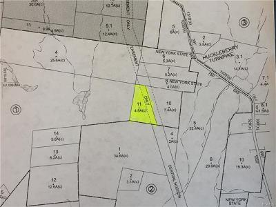 Orange County, Sullivan County, Ulster County Residential Lots & Land For Sale: Tbd Huckleberry Turnpike