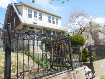 Bronx Single Family Home For Sale: 171 West 179th Street