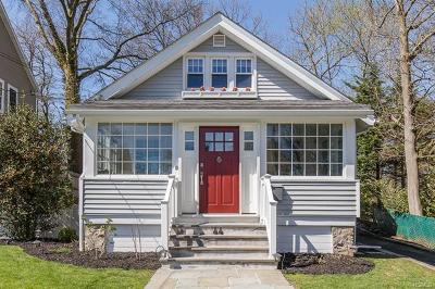 New Rochelle Single Family Home For Sale: 44 Weeks Place