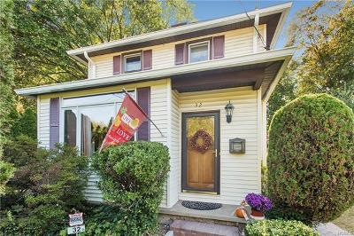 Dobbs Ferry Single Family Home For Sale: 32 Northfield Avenue