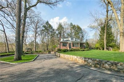 Briarcliff Manor Single Family Home For Sale: 507 Old Chappaqua Road