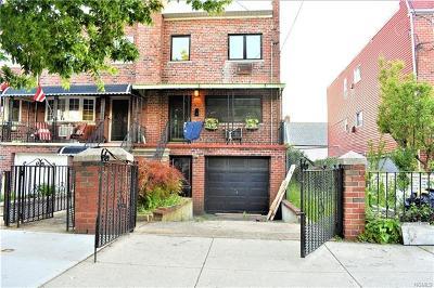 Bronx Single Family Home For Sale: 261 Balcom Avenue