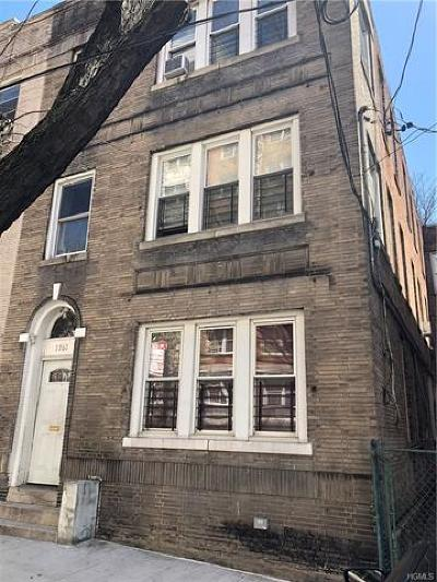 Bronx Multi Family 2-4 For Sale: 1762 Monroe Avenue