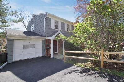 Hastings-On-Hudson Single Family Home For Sale: 36 Ravensdale Road