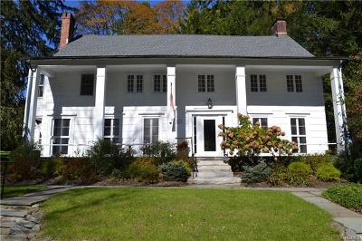 Chappaqua Single Family Home For Sale: 350 Bedford Road
