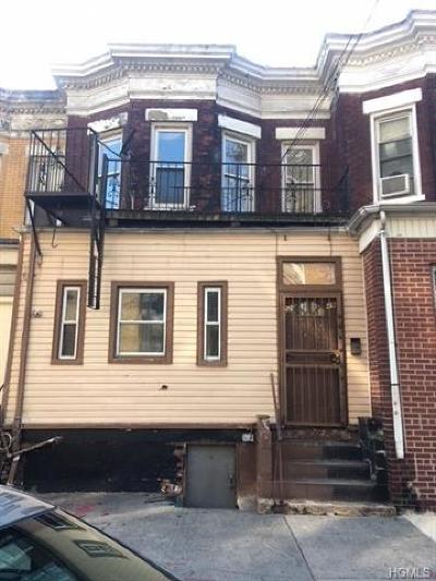 Bronx Single Family Home For Sale: 2249 Tiebout Avenue