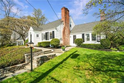 Bronxville Single Family Home For Sale: 258 West Pondfield Road