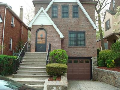 Yonkers Single Family Home For Sale: 136 Kimball Terrace