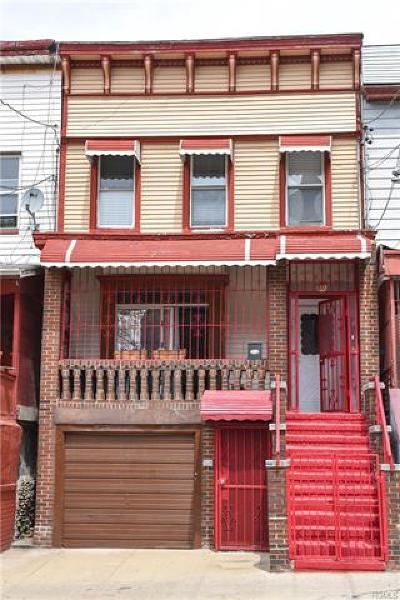 Bronx Single Family Home For Sale: 503 East 182nd Street