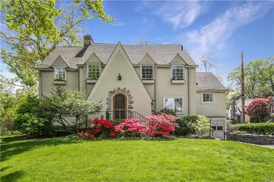 Scarsdale NY Single Family Home For Sale: $1,170,000